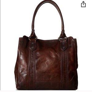 Like New Frye Melissa Tote Bag Dark Brown